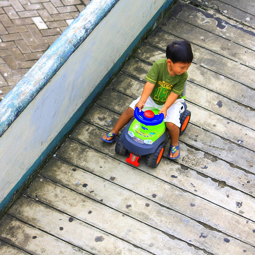 kid playing, , Iquitos | by Brian Moriarty