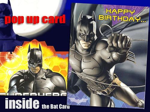 Pop up batman birthday cards freepost greeting cards shop flickr pop up batman birthday cards by who ray m4hsunfo