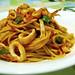 Squid spaghetti