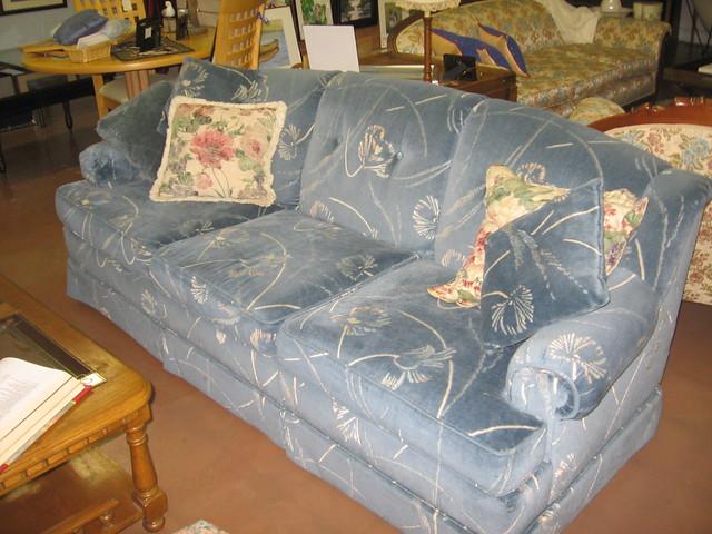 Flexsteel Living Room Leather Power Sofa