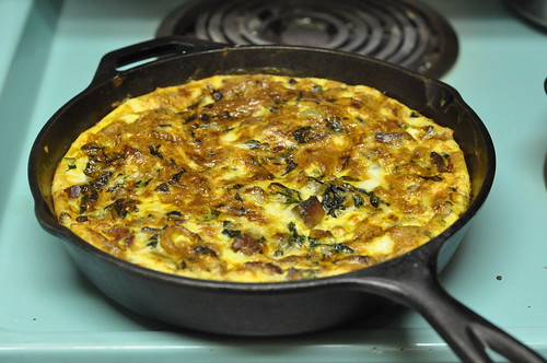 cast iron frittata | by Marisa | Food in Jars