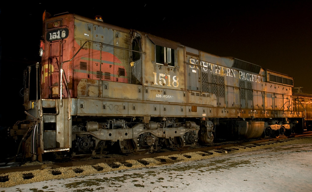 The Southern Pacific 1518 At The Illinois Railway Museum