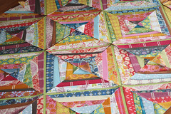 an anna maria horner string quilt, in voile | by filminthefridge
