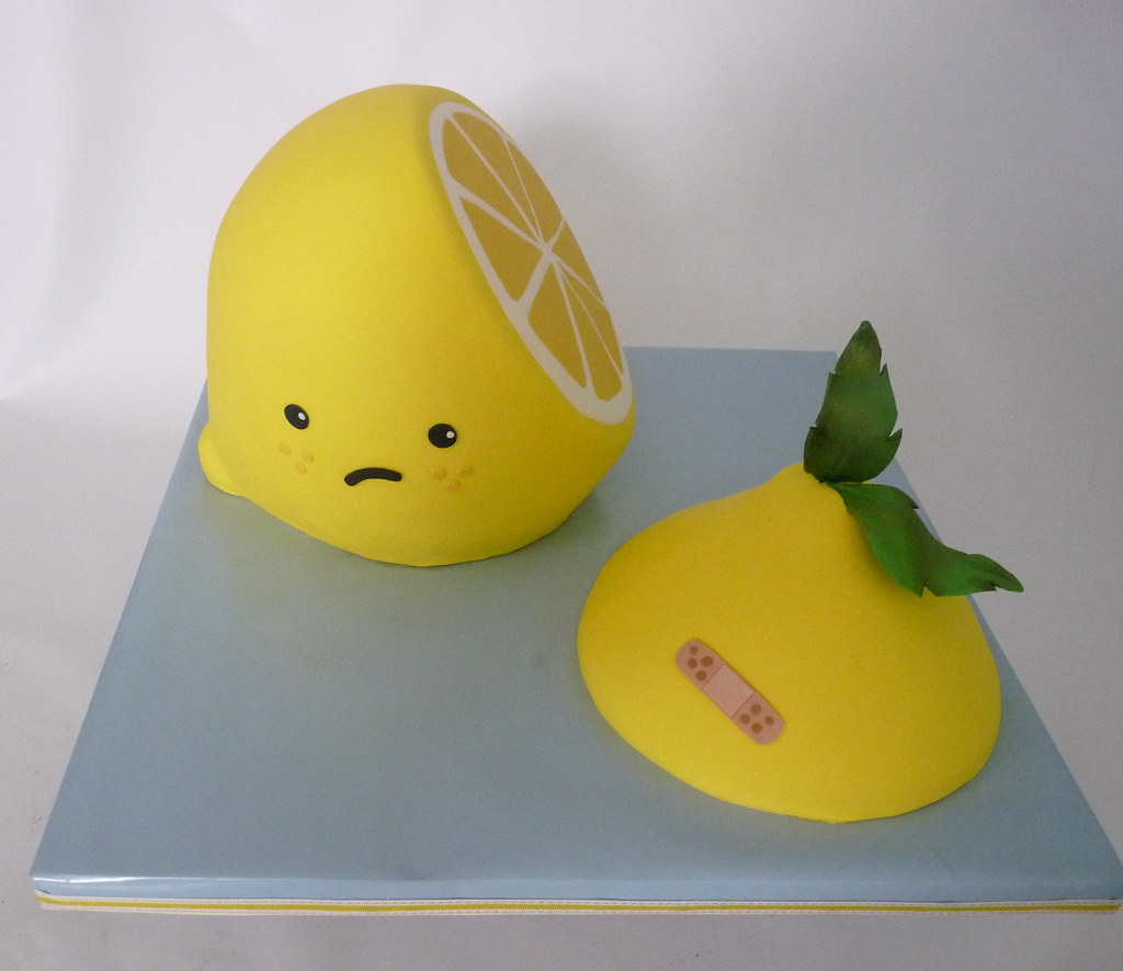 how to store cut lemon
