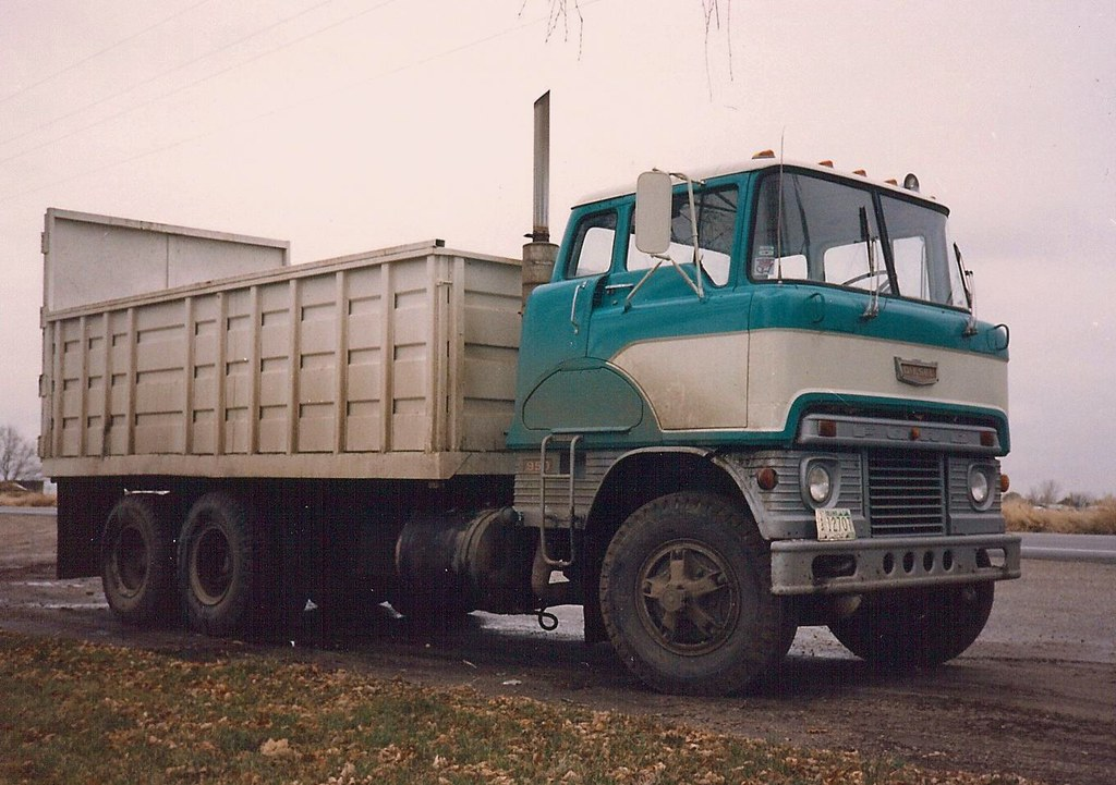 1965 White 4000 Semi Tractor : Ford quot h  s nice shot in idaho dick copello