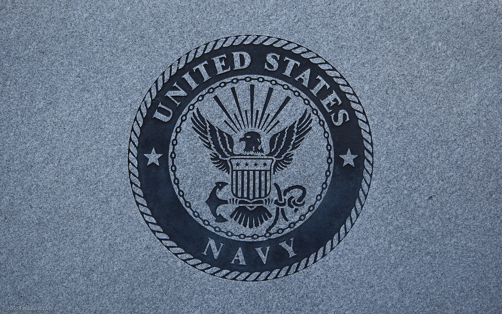 United States Navy Emblem Granite Desktop Navy Emblem Carv Flickr