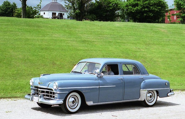 1950 Chrysler Windsor 4 Door Richard Spiegelman Flickr