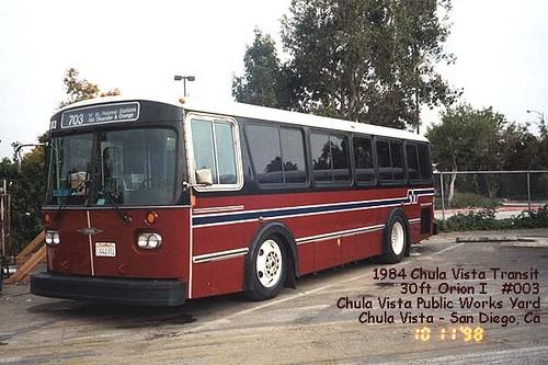 Chula Vista Transit Orion Bus Dwarren22 Flickr