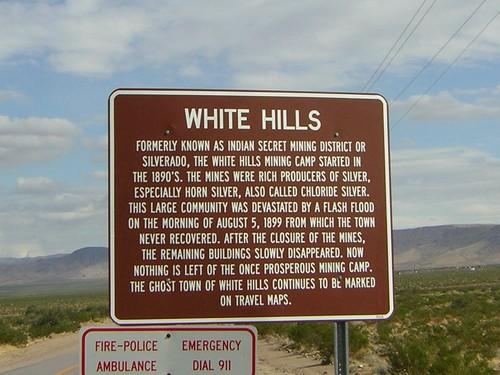 white hills  arizona  ghost town
