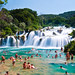 Skradinski Buk - Waterfall in Krka National Park, Croatia