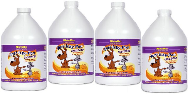Anti Icky Poo Unscented 4 Gallon Case Anti Icky Poo