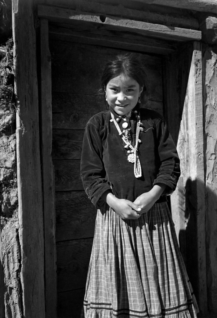 Ansel adams the mural project 1941 1942 navajo girl for Ansel adams mural project 1941 to 1942