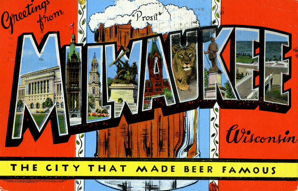 Greetings from milwaukee wisconsin the city that made be for Tattoo shops milwaukee