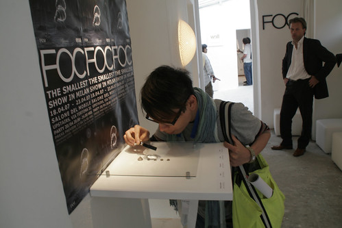 FOC at Salone del Mobile Milan '07 | by Freedom Of Creation