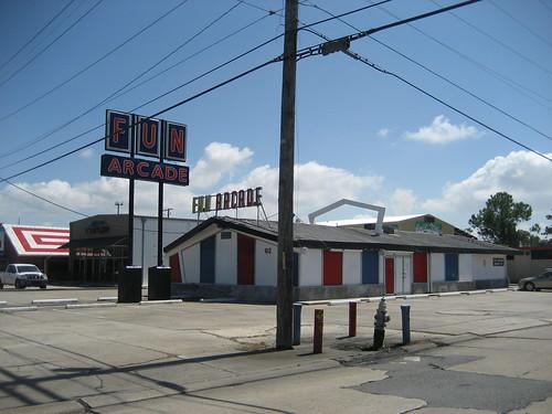 Fun Arcade Metairie 22 Sept 2008 Fun Arcade Building