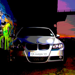 BMW : Graffiti Style | by Peter&JaneBurns