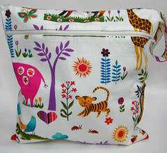zipper wet bag juicy jungle | by paisleybaby