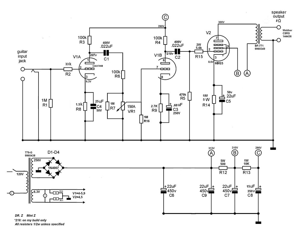 Dr Z Mini Z schematic   dan mask   Flickr