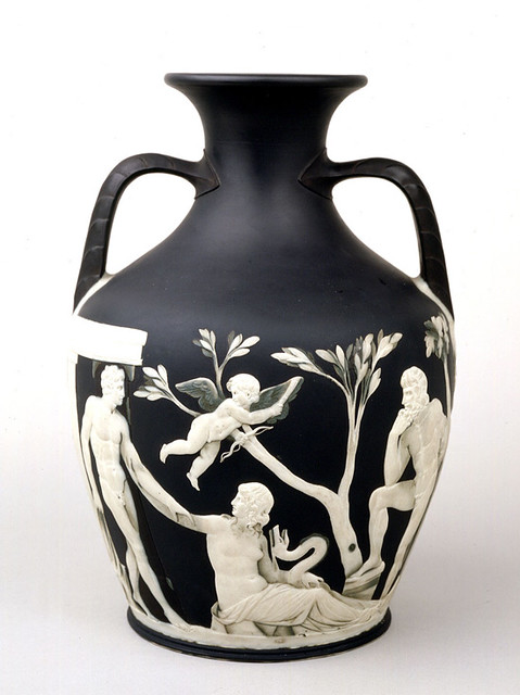 Portland Vase First Edition Wedgwood Jasperware C1790 Flickr