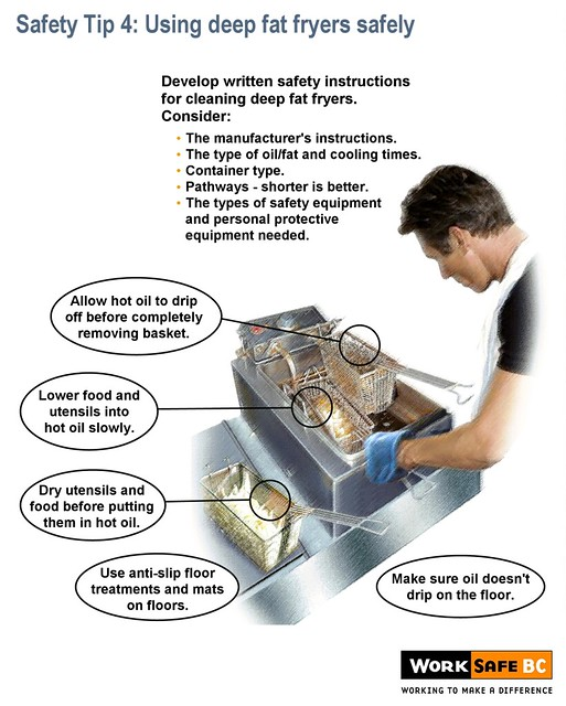 Kitchen safety tip 4 using deep fat fryers safely flickr for 5 kitchen safety tips