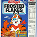 1987 Kellogg's Frosted Flakes Cereal Box Front