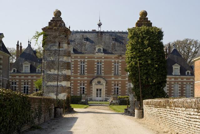 Le Chateau De Villebourgeon Commune De Neung Sur Beuvron