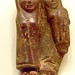 Amulet depicting a woman holding a child Italic or Etruscan 500-400 BCE Amber Kourotrophos