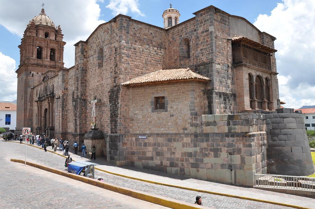 La Iglesia De Santo Domingo Built On The Ruins Of The Cori