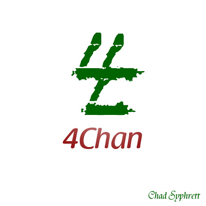 4Chan Logo-Concept White BG by Chad Syphrett | Flickr - Photo Sharing!