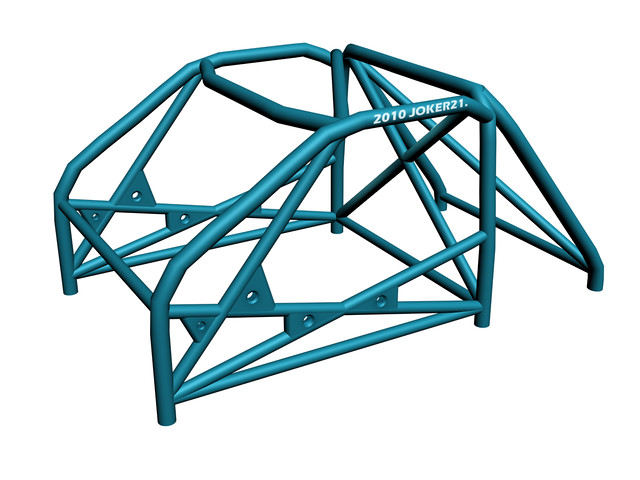 3D Model - Roll Cage | Maybe some parts are wrong , but ...