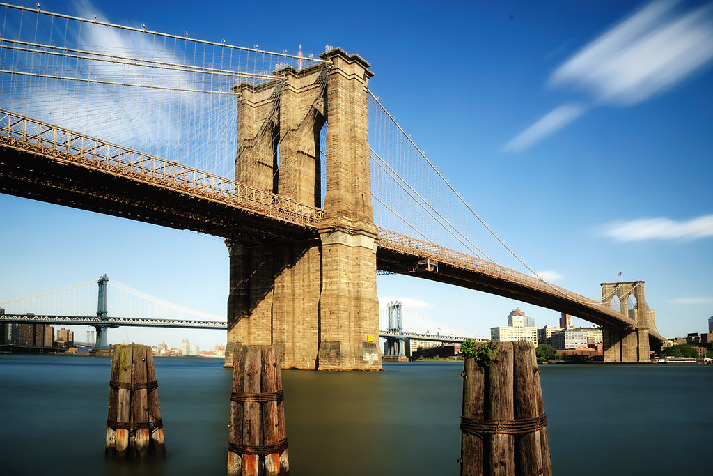midday long exposure brooklyn bridge new york city flickr. Black Bedroom Furniture Sets. Home Design Ideas