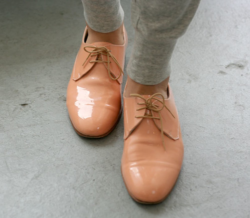 Dieppa Restrepo Peach Oxfords | by the coveted