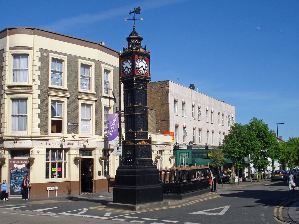 South Norwood Clocktower Commemorates The Golden Wedding