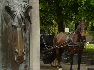 Bruges horse fountain | by Richard Tulloch