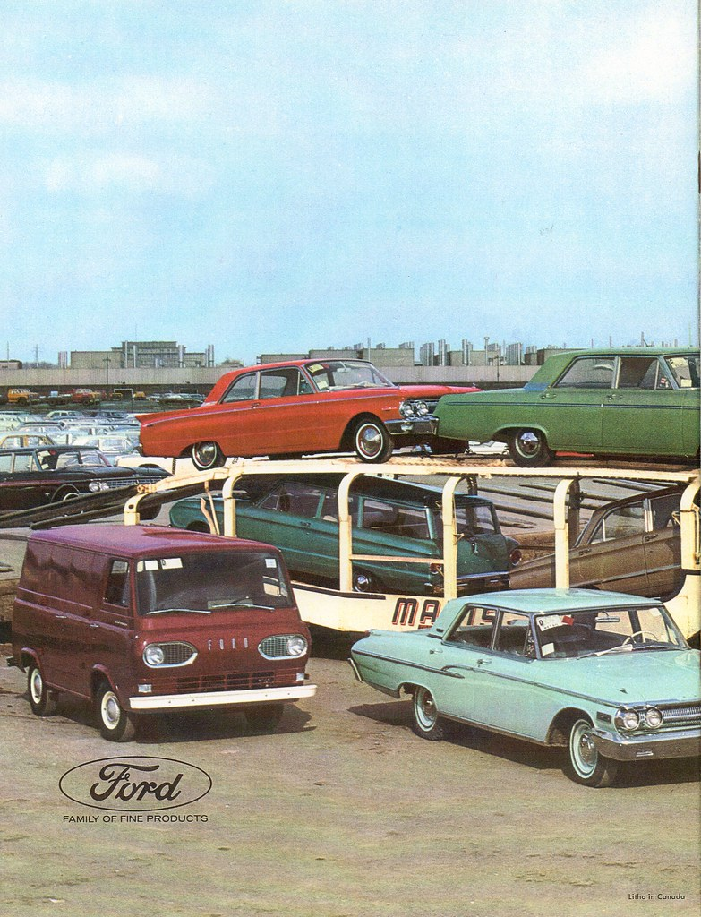 Ford Motor Company Of Canada 1961 Annual Report C1 Flickr