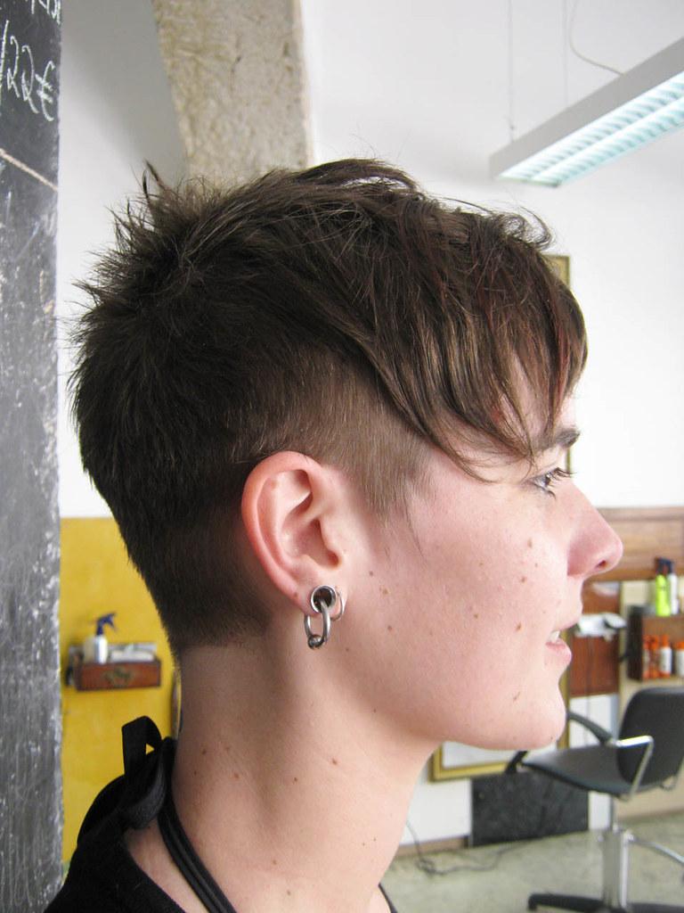 Short Hair Cut Haircut By Jezz Motor Hairport Pt Wip