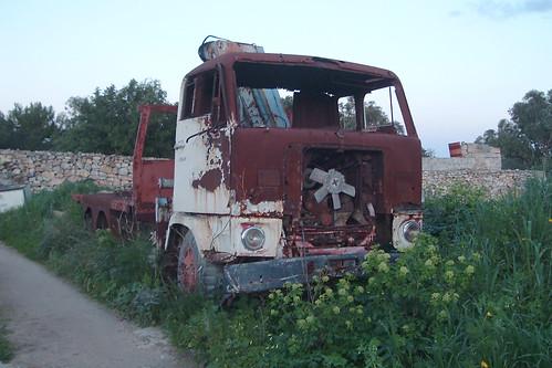 Malta Volvo F89 Truck Wreck   This locally rare Volvo F89 ...