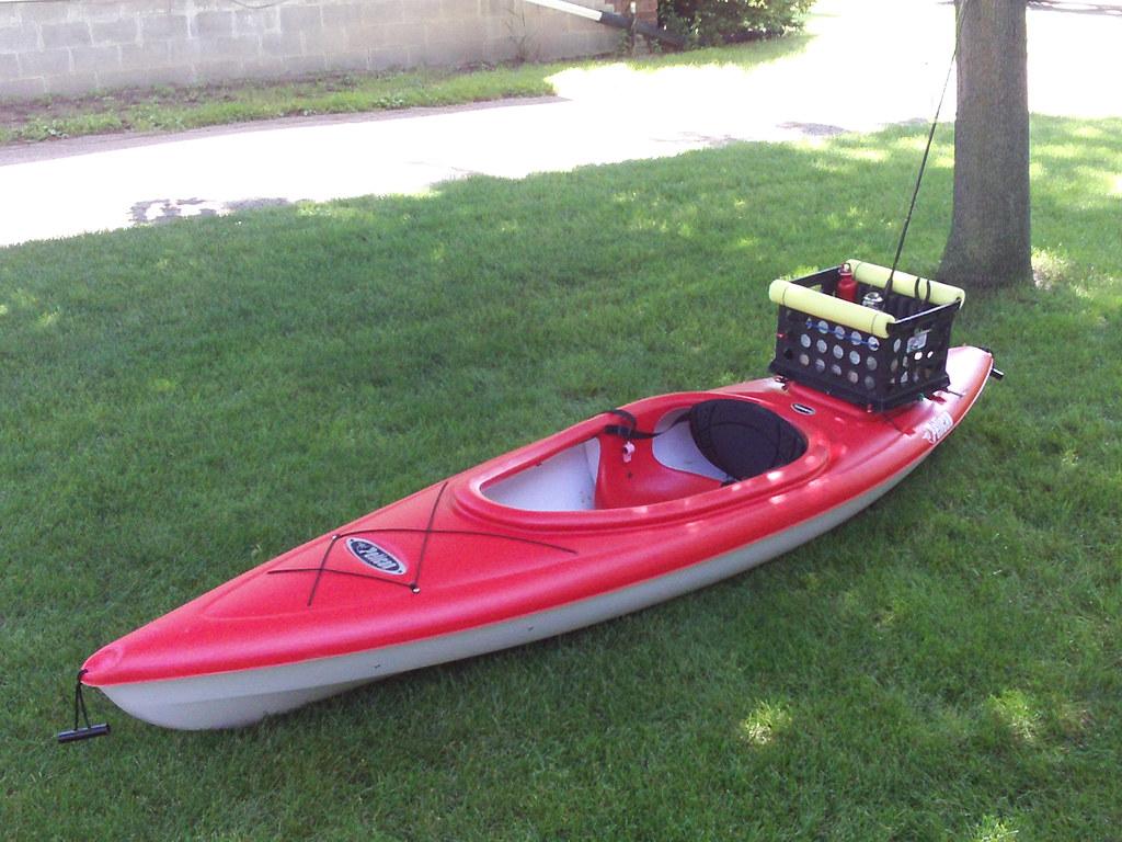 Image gallery kayak fishing crate for Best cheap fishing kayak