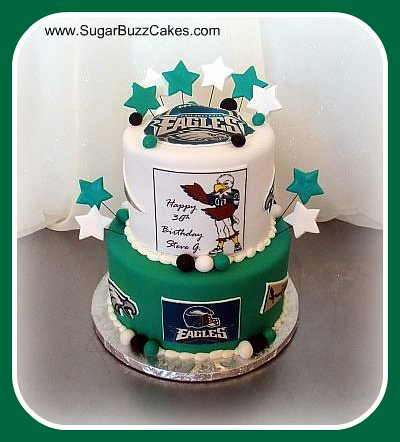 Philadelphia Eagles Birthday Cake Images