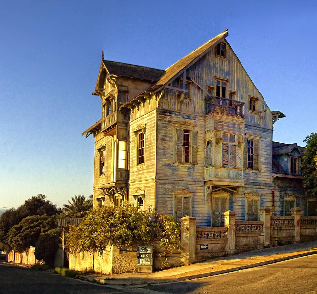 Valparaiso casa antigua foto de antonio ljubetic playa - Fotos de casas antiguas ...