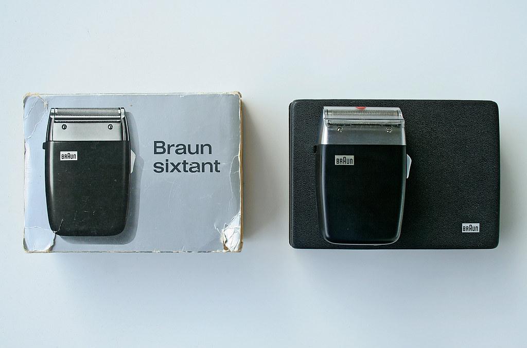 Braun Sixtant  Sixtant SM31 from 1962 Design Gerd Alfred …  Flickr # Ecksofa Leder Braun Vintage