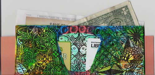 how to make a origami wallet with pockets