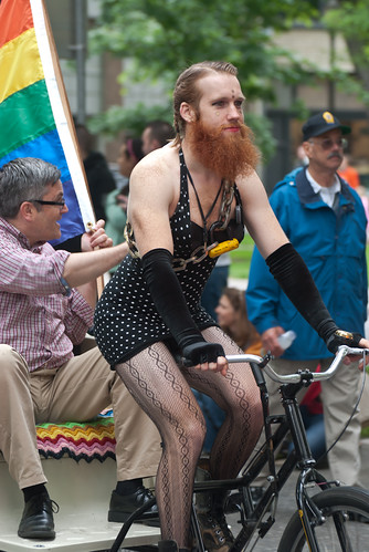 """Gay Pride Parade - 2010"" - 44 - Portland Mayor joins in. 