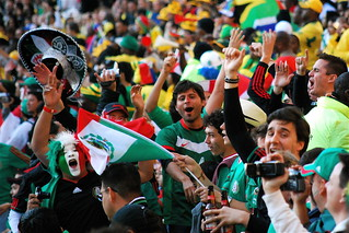 Mexico's Fans at Soccer City | by Celso Flores