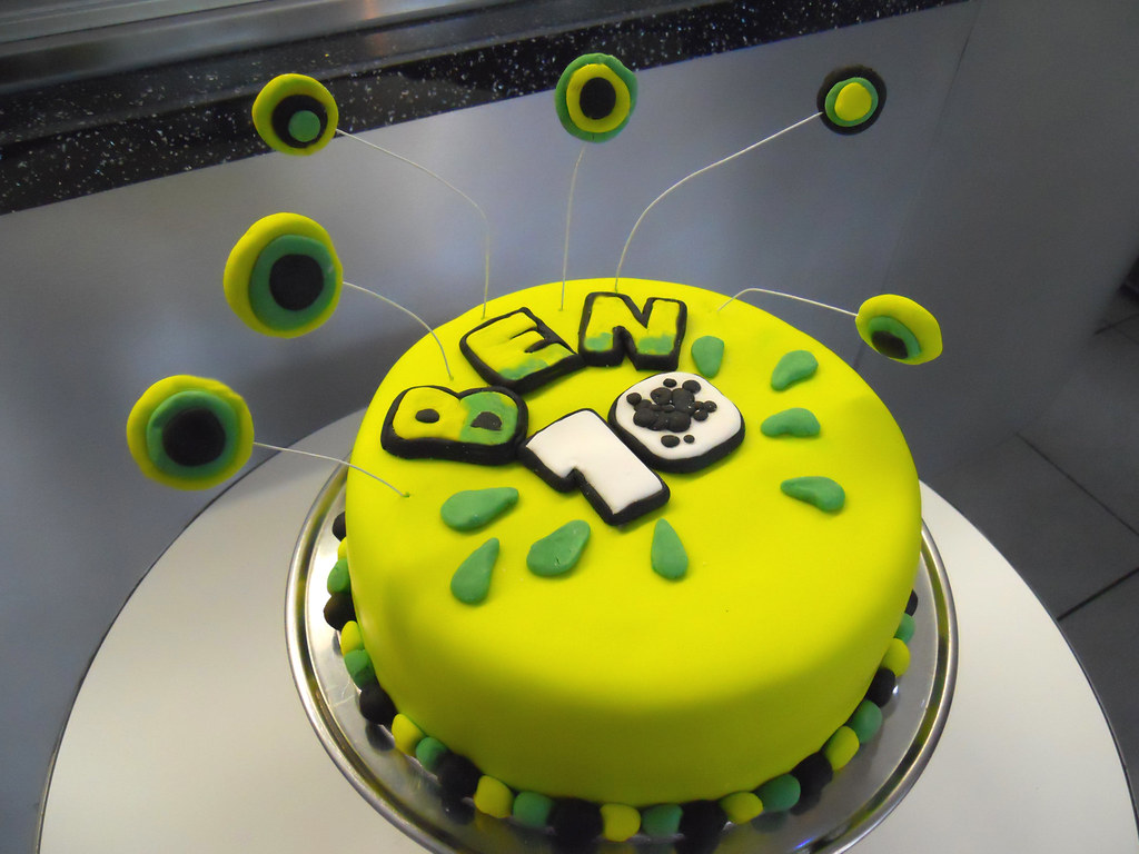 Ben 10 Birthday Cake Ben 10 Themed Cake Complete With Ben Flickr