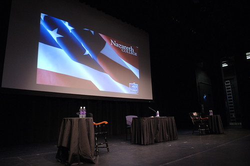 Campaign Trail Hits Naz - Nazareth College, Rochester, NY | by NazarethCollege