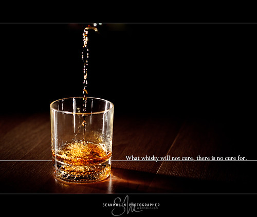 What whisky will not cure, there is no cure for. | by Sean Molin Photography