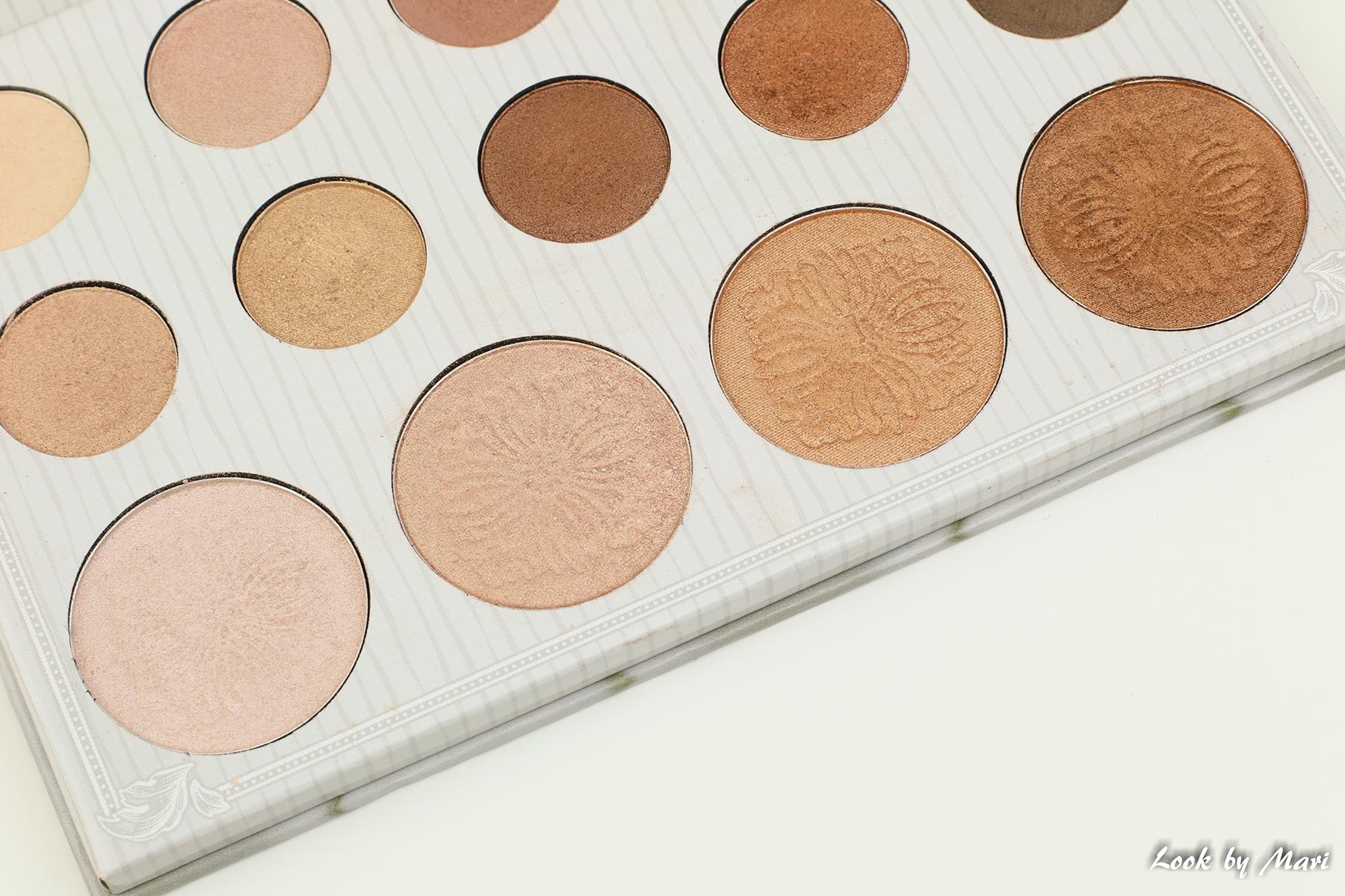 5 bh cosmetics x carli bybel luomiväri & highlighter paletti värit sävyt suomesta suomeen