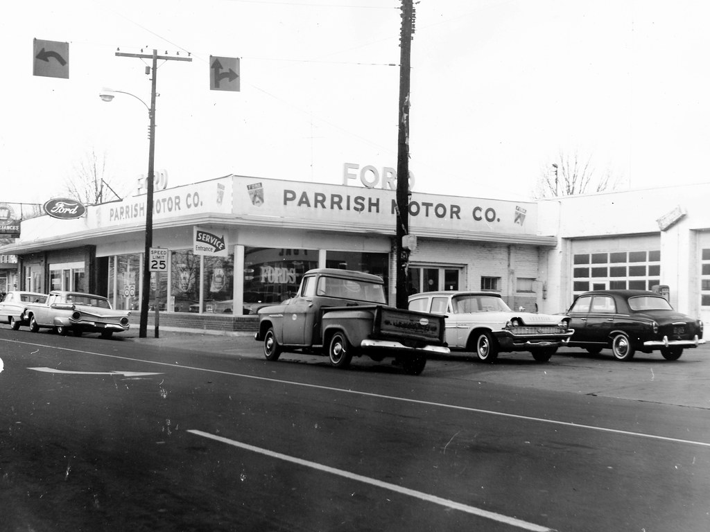 Parrish Motor Co Ford Benson Nc 1966 Bill Cook Flickr