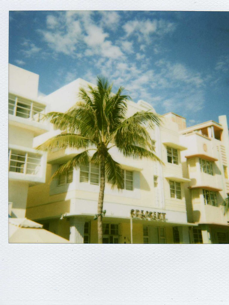 art deco on south beach polaroid polaroid 636 closeup came flickr. Black Bedroom Furniture Sets. Home Design Ideas